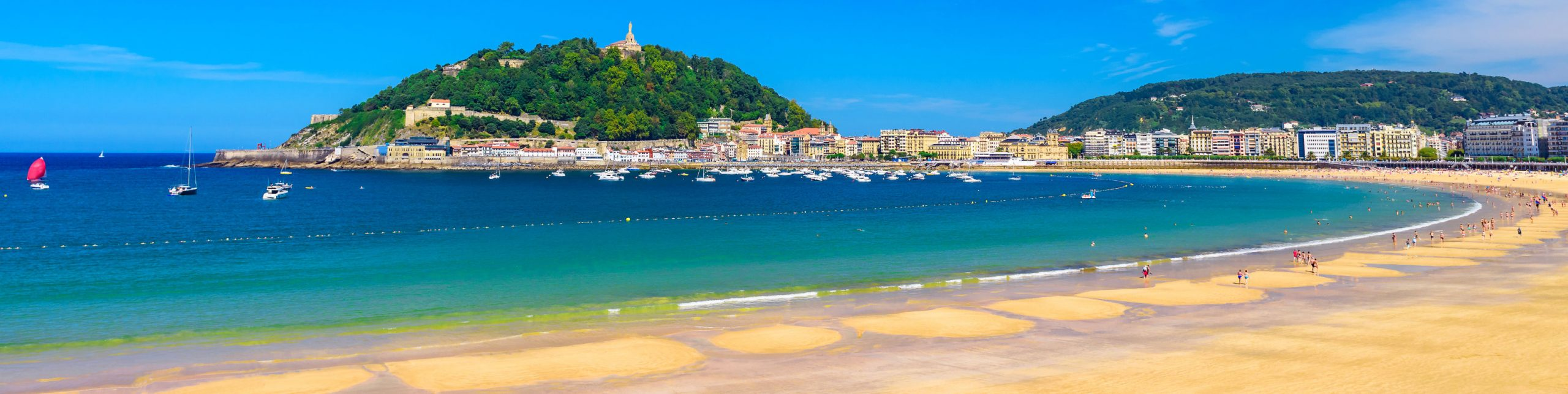 Foto de la playa Concha de Donostia/San Sebastian