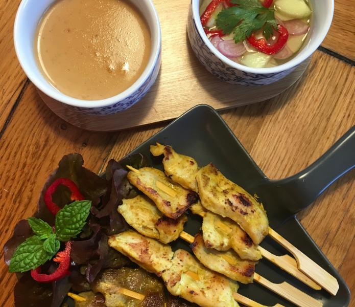 Satay de pollo – Gai Satay