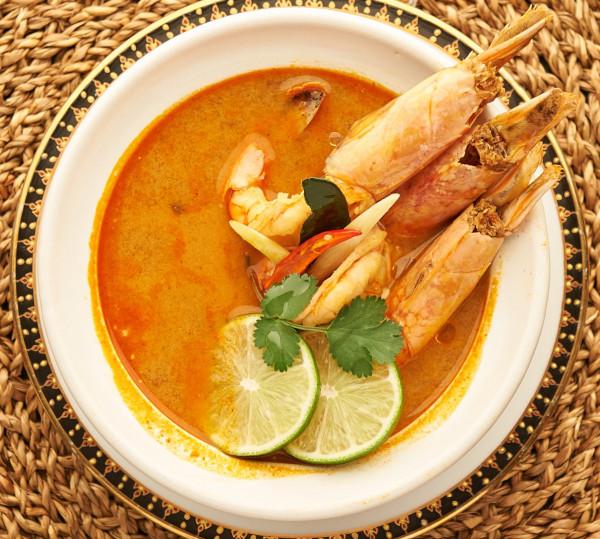 Sopa de langostinos – Tom Yam Kung